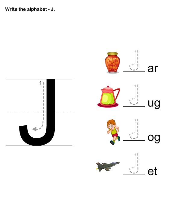 Letter Writing J