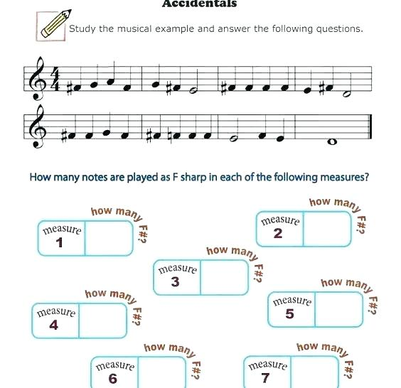 Beginner Music Theory Worksheets Music Theory Worksheets