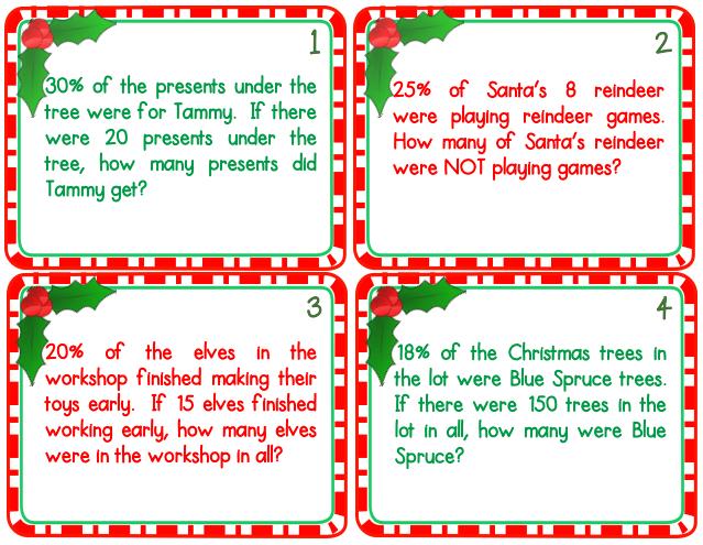 Fun Christmas Ideas For The Middle School Math Classroom