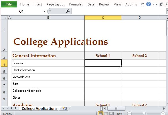 Track College Expenses And Activities With College Comparison