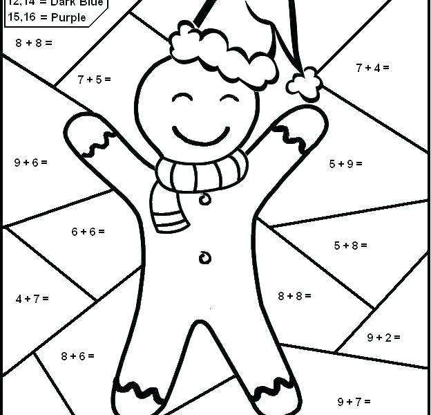 Fun Coloring Math Worksheets Pictures Pages Also Addition