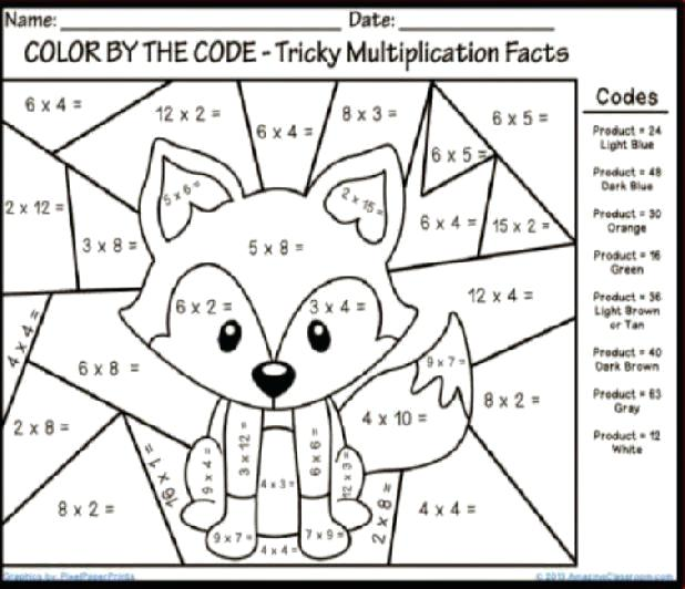 Fun Multiplication Worksheets For 4th Grade Worksheets For All Fun
