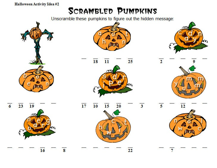 Halloween Math Worksheets & Activities