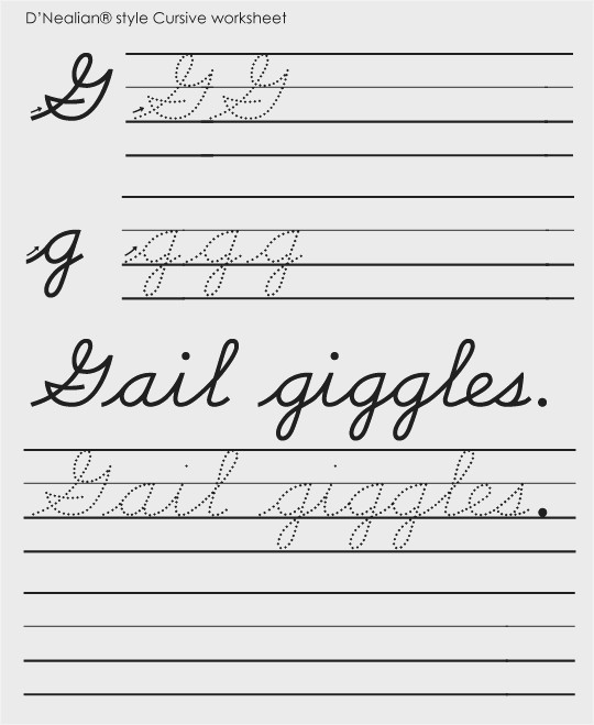 Handwriting Worksheets Kindergarten D Nealian Handwriting