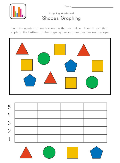 Kindergarten Math  Graphing
