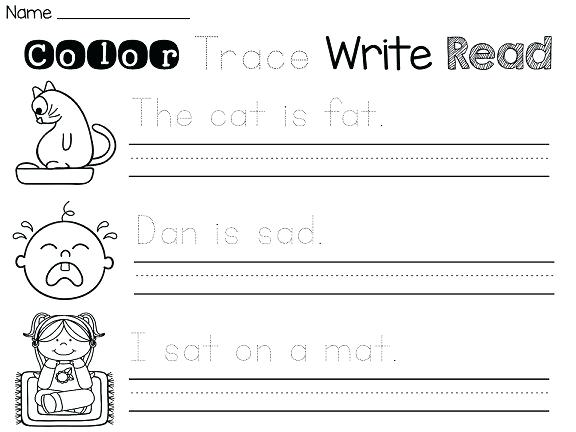 Kindergarten Writing Sentences Worksheets – Muanhasaigon Online