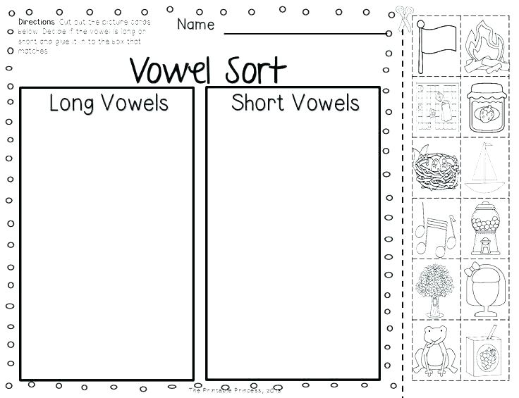 Long And Short Vowel Worksheets 2nd Grade Oa And Ow Worksheets