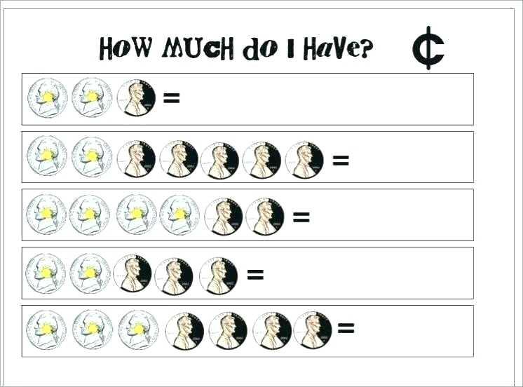 Math Money Worksheet Free Touch Math Worksheets Unique Math Money