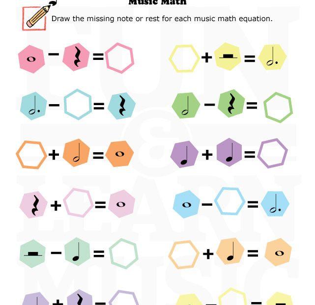 Basic Music Theory Worksheets
