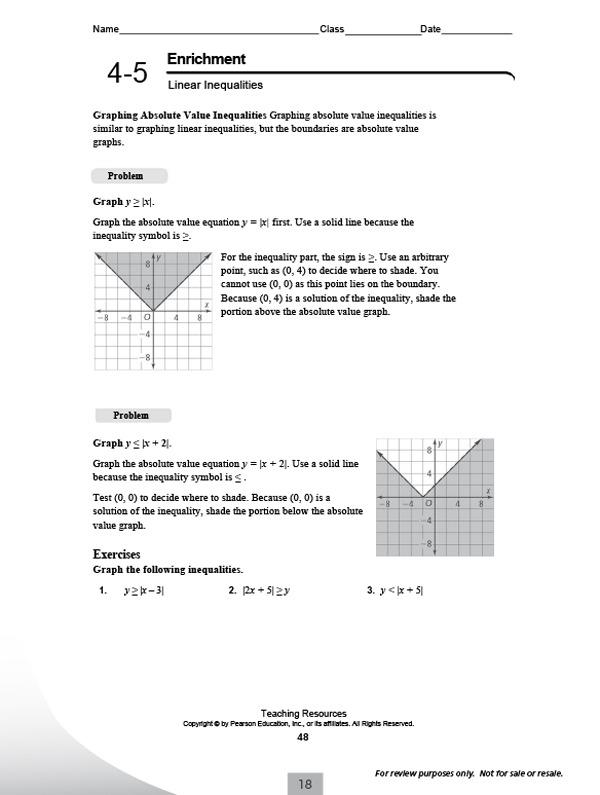 Pearson Worksheets Math Pearson Worksheets – Pip Math Worksheet