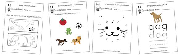 Daycare Worksheets