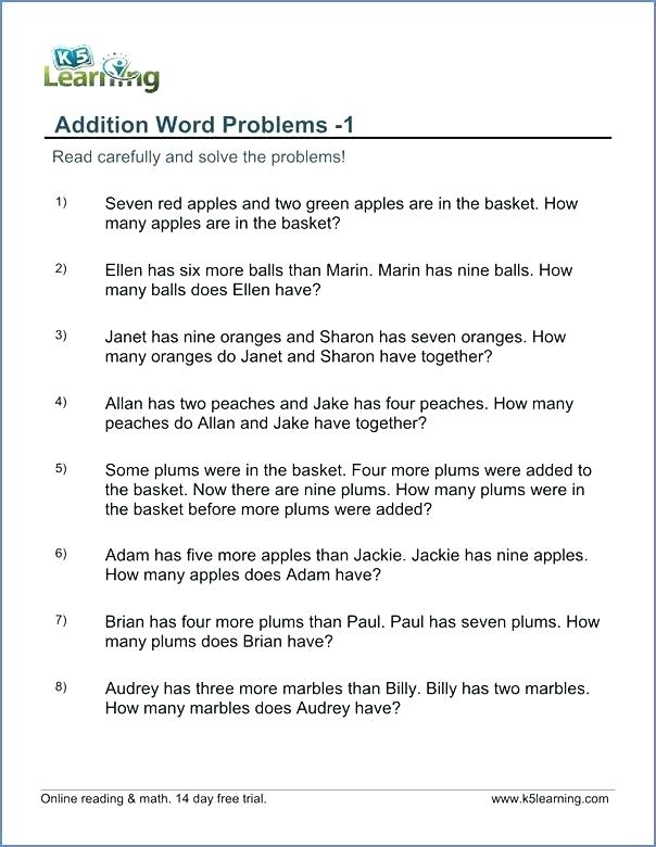 Problem Solving Worksheets For 6th Grade Grade 3 Math Problem