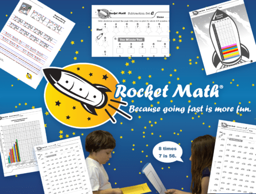 Rocket Math Worksheet Program Subscriptions