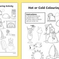 Hot And Cold Objects Worksheets