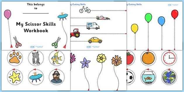 Cutting Skills Worksheets