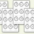 Time Free Printable Worksheets