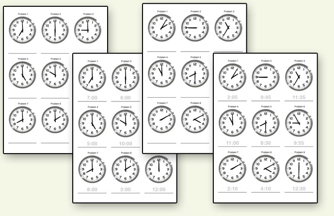 Where Can I Find Time Worksheets