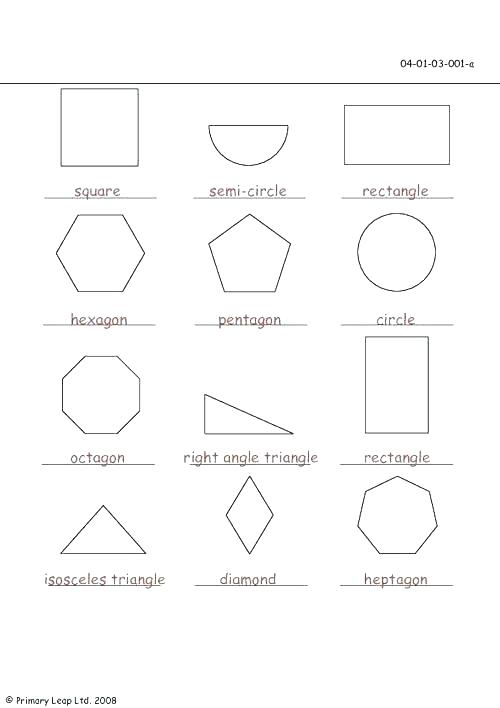 Two Dimensional Shapes Worksheets 3rd Grade Two Dimensional Shapes
