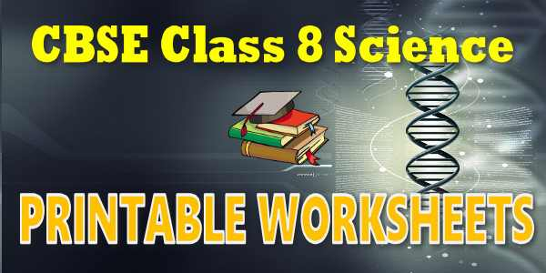 Cbse Worksheets For Science Microorganisms Friend And Foe