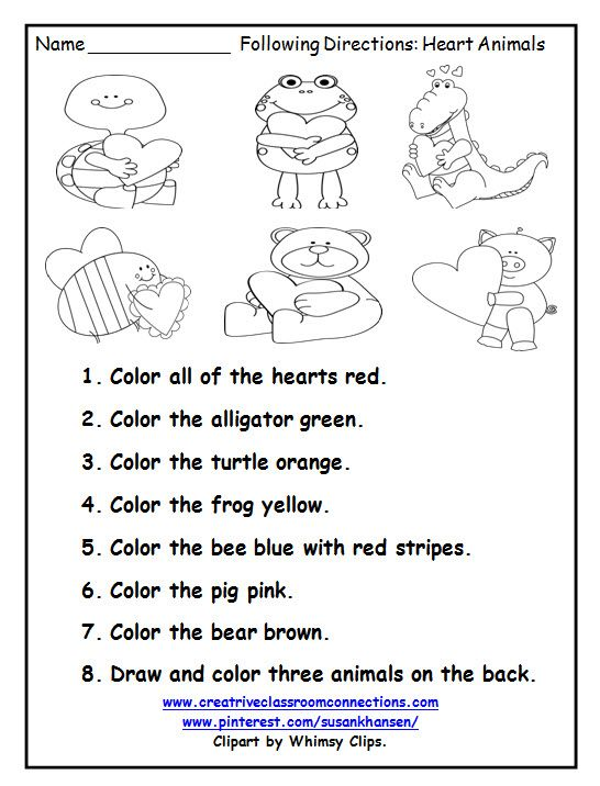 This Free Printable Is A Great February Activity For Following