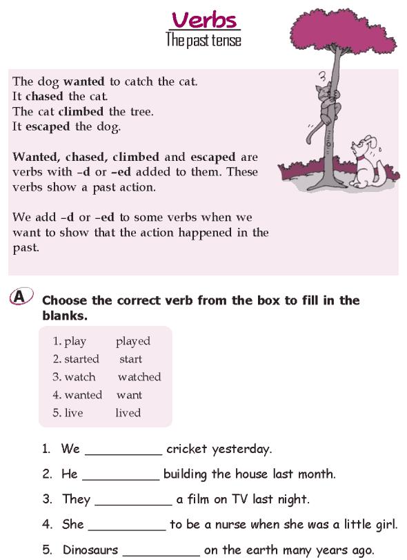 Grade 2 Grammar Lesson 14 Verbs – The Future Tense