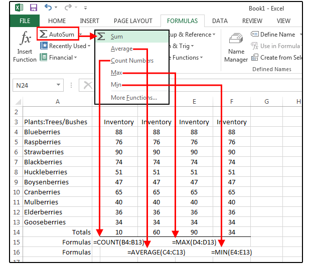 Your Excel Formulas Cheat Sheet  15 Tips For Calculations And