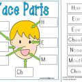 Label The Face Worksheets
