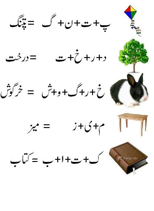Urdu Worksheet