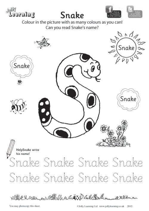 Colouring Worksheets Â« Â« Jolly Learning Jolly Learning