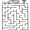 Preschool Maze Worksheets