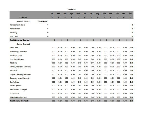 Free Printable Accounting Sheets