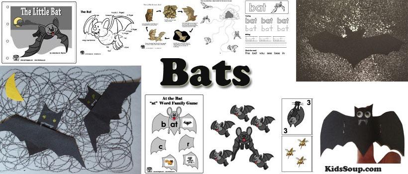 Bats Preschool Activities, Crafts, And Lessons