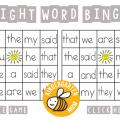 Worksheets On Sight Words For Kindergarten