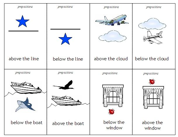 Preposition Worksheets Kindergarten