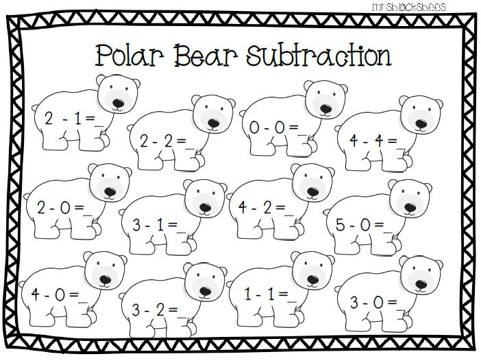 Polar Bear Subtraction