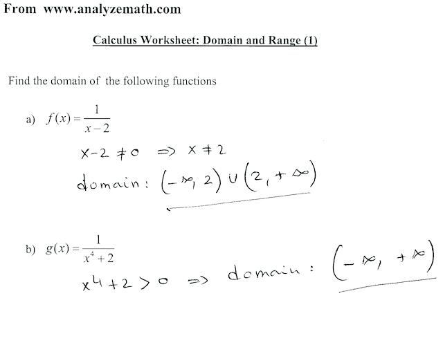 Calculus Puzzle Worksheets Calculus Verifying Using Trig