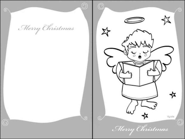 How To Craft Xmas Angel Card