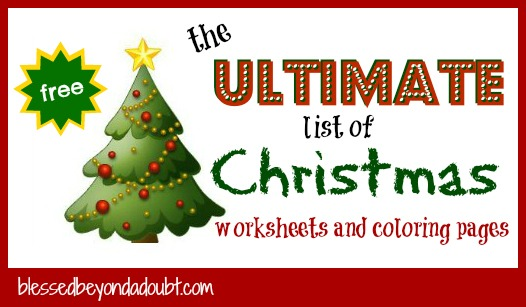 Christmas Coloring Math Worksheets Rounding  Math Coloring Pages
