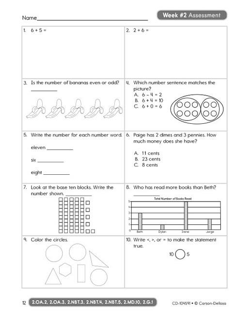 Math 4 Today Grade 3 Worksheets  Math 4 Today, Grade 3  Donna