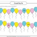 Skip Counting By 5's Worksheets
