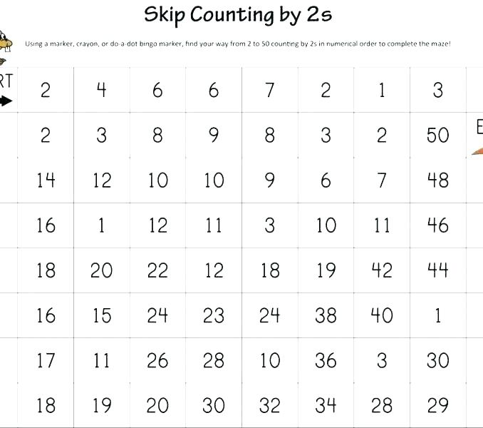Counting 6 Worksheets Objects 1 30