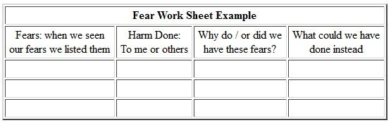 Printable Aa Step 4 Worksheets