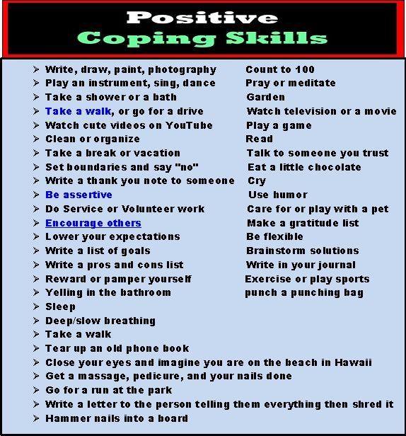 Positive Coping Skills By Blake Flannery (i Don't Know If I Agree