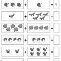 Math Addition Worksheets Kindergarten