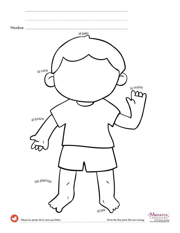 Spanish Worksheets For Kindergarten