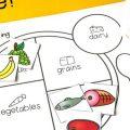Food Group Sorting Worksheets