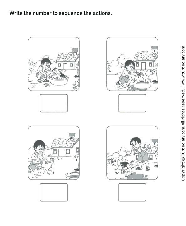 Free Printable Sequencing Worksheets 2nd Grade Worksheets Story