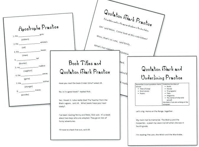 Grade 4 Language Arts Worksheets – Nicebiowar Info
