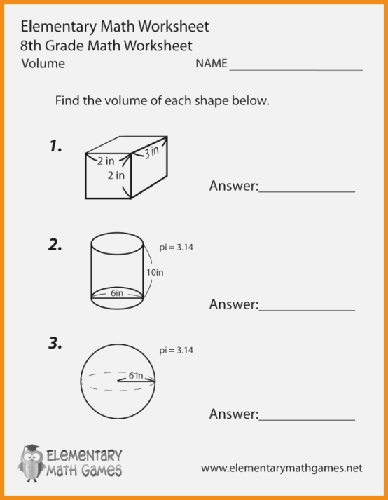 338 Influential 38th Grade Math Worksheets Printable