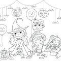 Halloween Worksheets For Toddlers